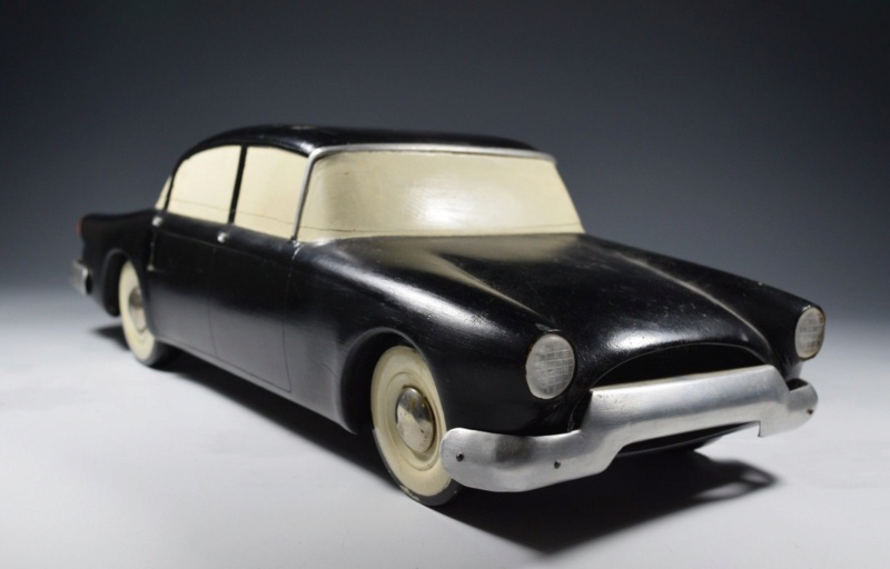 Vintage Auto Design Car Model Fisher Body Competition Streamline Futuristic 1950 112