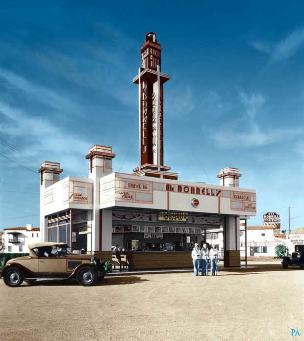 B & W Classic cars and vintage pics colorized by Imbued with hues 11203010