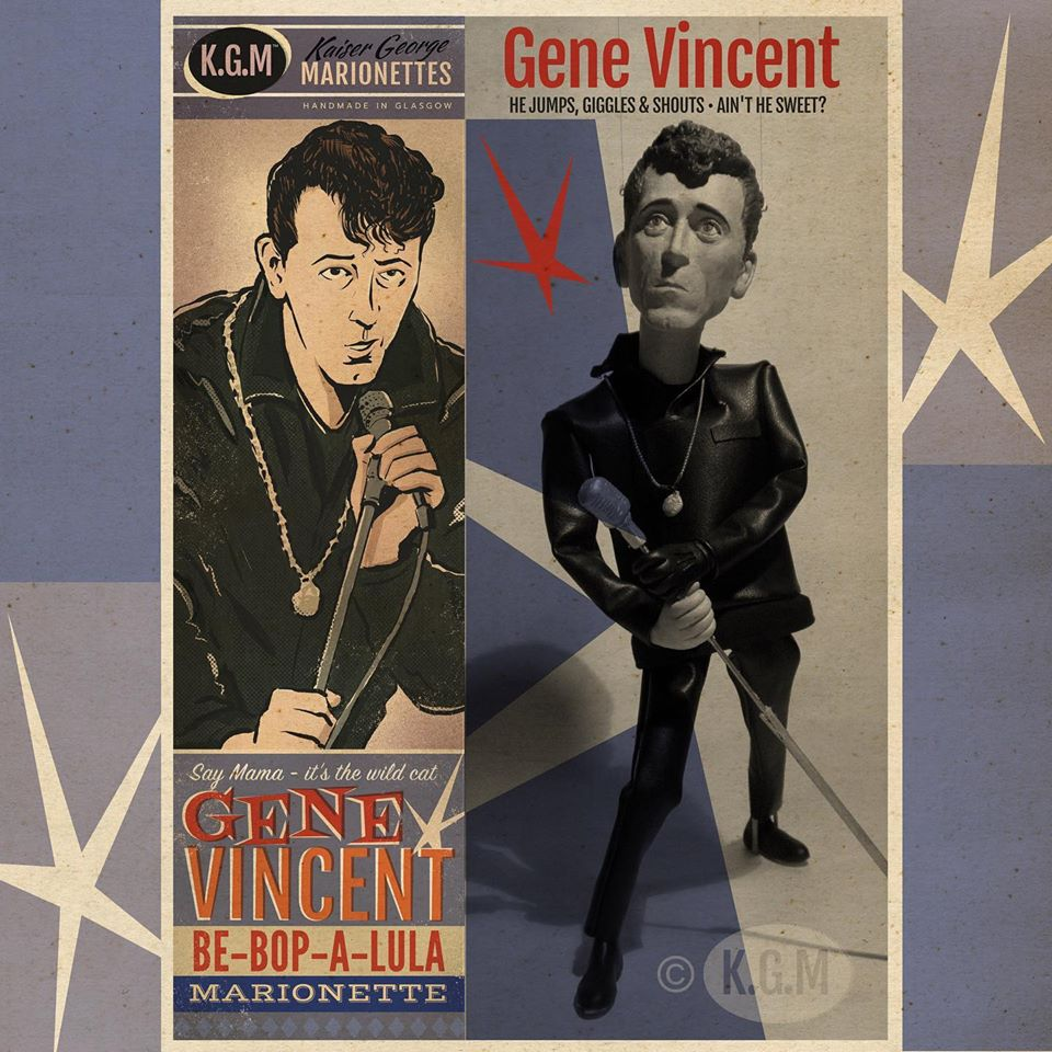 50s Rock 'n' roll legends in marionettes - KGM - Kaiser George Marionettes - 11759510