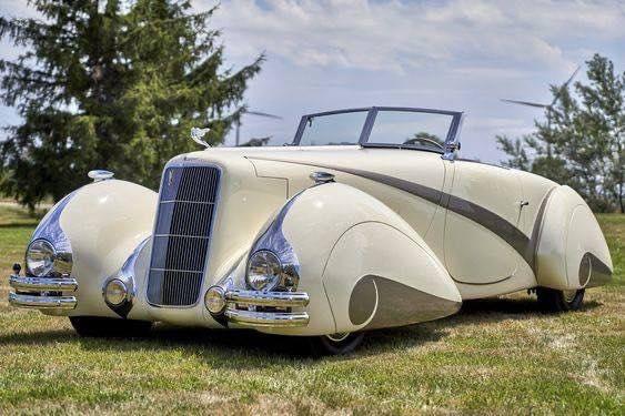 1937 Cadillac Series 90 Hartmann Roadster 11782510