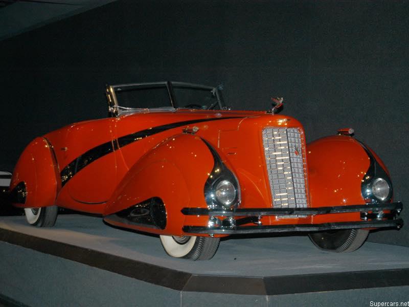 1937 Cadillac Series 90 Hartmann Roadster 11783410