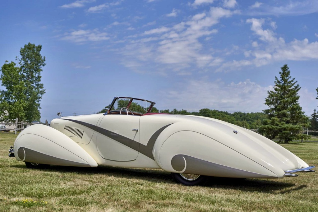 1937 Cadillac Series 90 Hartmann Roadster 11786710