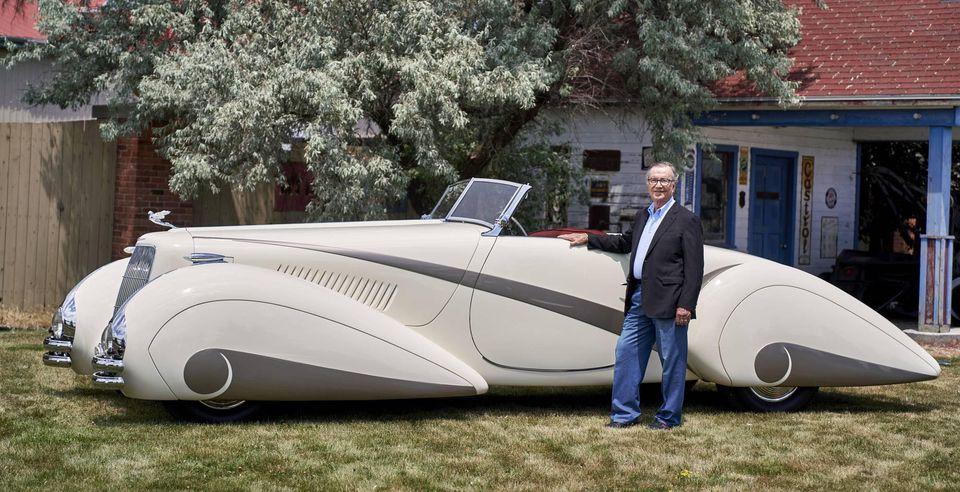 1937 Cadillac Series 90 Hartmann Roadster 11790610