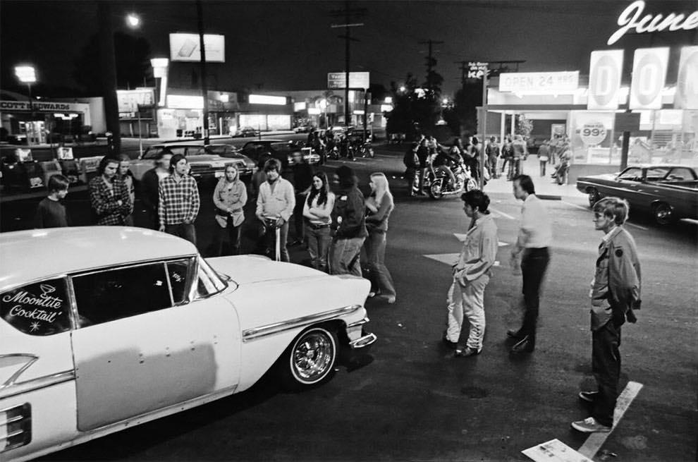 Cruising Van Nuys Boulevard In 1972 - Rick McCloskey photograph 11854510