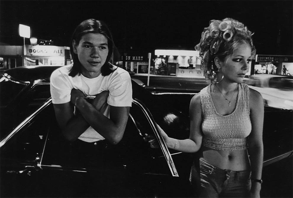 Cruising Van Nuys Boulevard In 1972 - Rick McCloskey photograph 11856110
