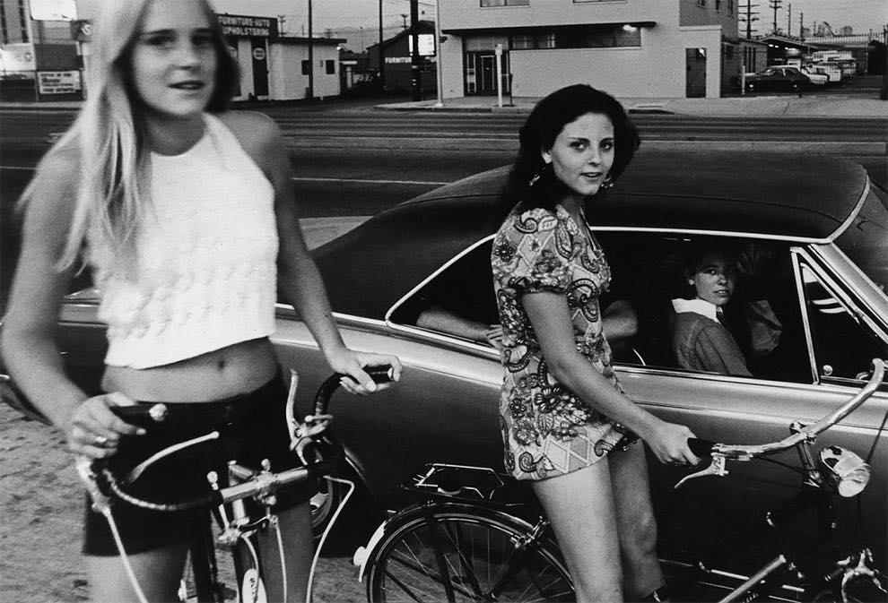 Cruising Van Nuys Boulevard In 1972 - Rick McCloskey photograph 11856111