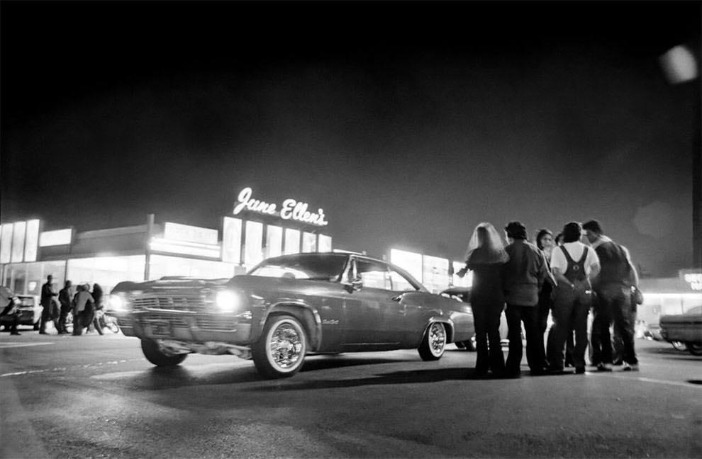 Cruising Van Nuys Boulevard In 1972 - Rick McCloskey photograph 11856210
