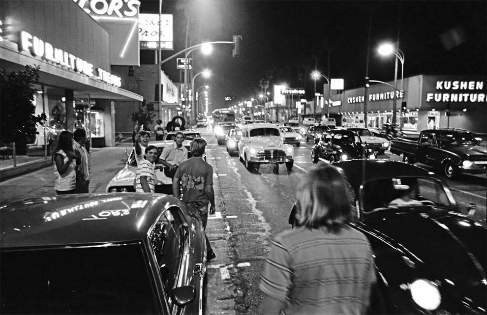 Cruising Van Nuys Boulevard In 1972 - Rick McCloskey photograph 11856510