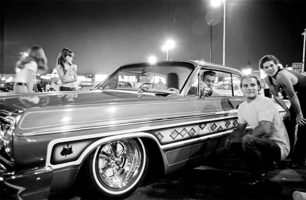 Cruising Van Nuys Boulevard In 1972 - Rick McCloskey photograph 11856710