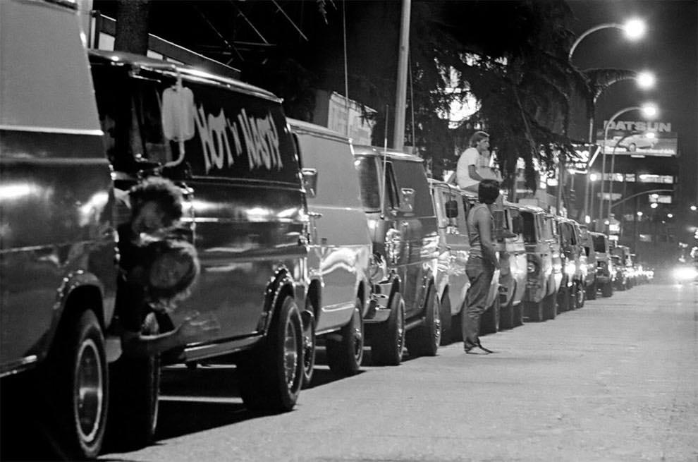 Cruising Van Nuys Boulevard In 1972 - Rick McCloskey photograph 11856910