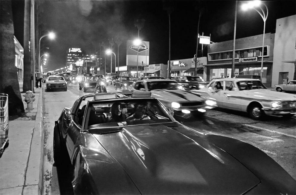 Cruising Van Nuys Boulevard In 1972 - Rick McCloskey photograph 11857910