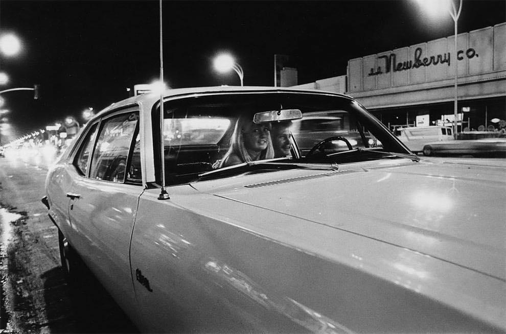Cruising Van Nuys Boulevard In 1972 - Rick McCloskey photograph 11858010