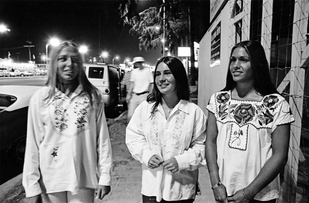 Cruising Van Nuys Boulevard In 1972 - Rick McCloskey photograph 11858211