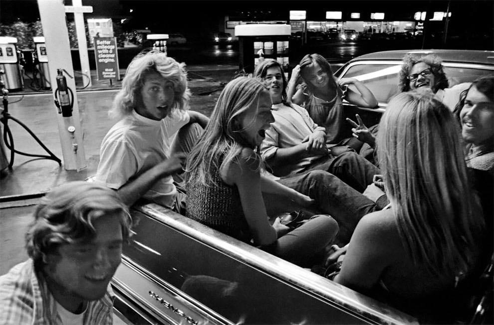 Cruising Van Nuys Boulevard In 1972 - Rick McCloskey photograph 11859210