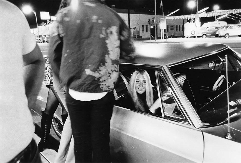 Cruising Van Nuys Boulevard In 1972 - Rick McCloskey photograph 11859410