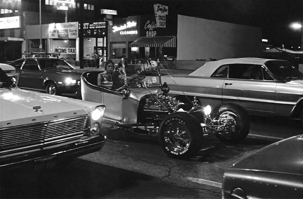 Cruising Van Nuys Boulevard In 1972 - Rick McCloskey photograph 11865210