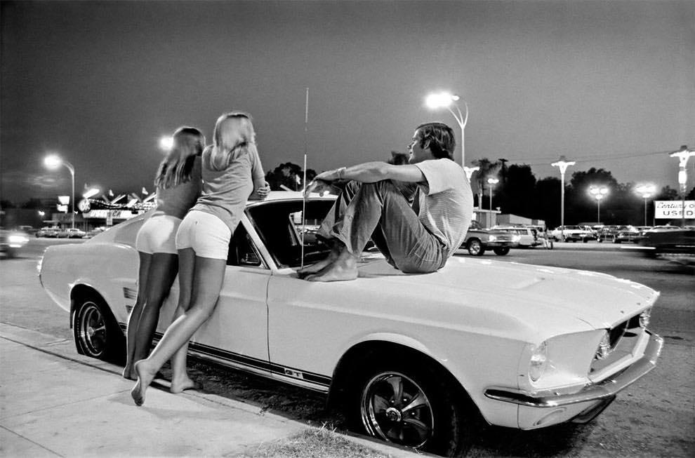 Cruising Van Nuys Boulevard In 1972 - Rick McCloskey photograph 11866610