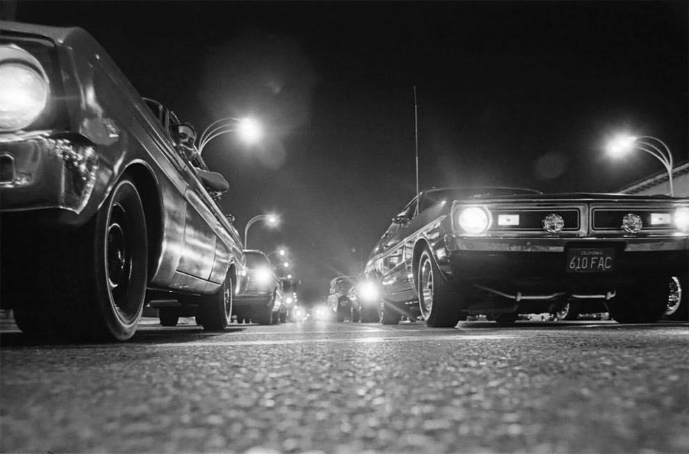 Cruising Van Nuys Boulevard In 1972 - Rick McCloskey photograph 11869210