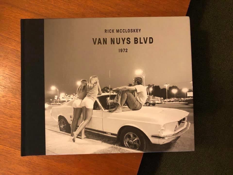 Cruising Van Nuys Boulevard In 1972 - Rick McCloskey photograph 11869410