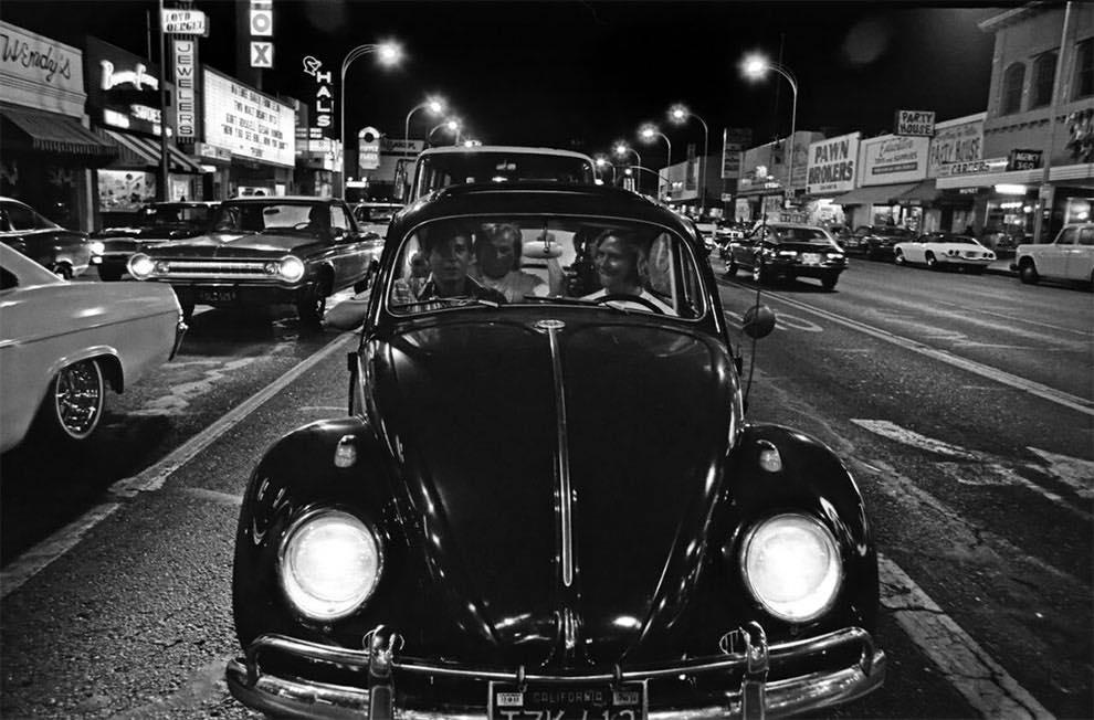 Cruising Van Nuys Boulevard In 1972 - Rick McCloskey photograph 11869610