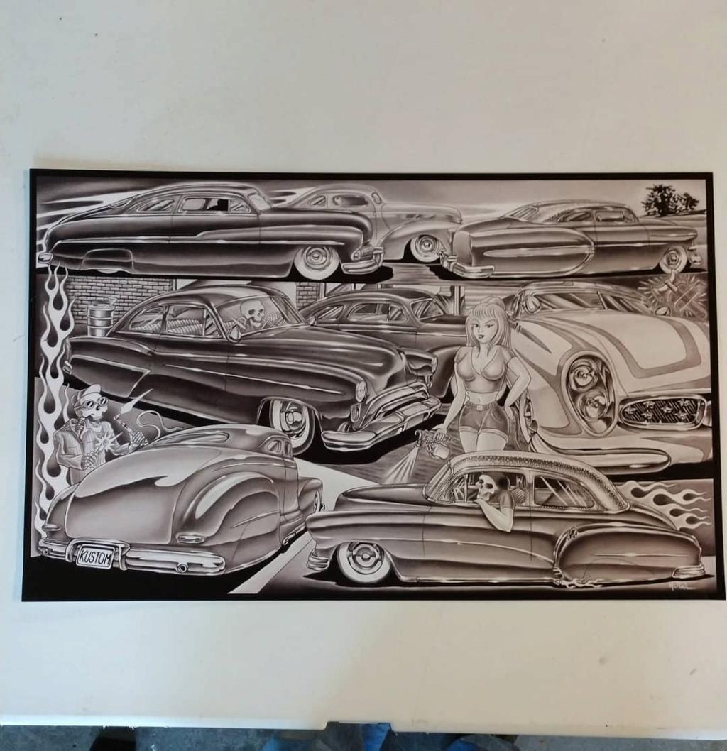 Dennis McPhail - artist kustom and hot rod kulture - Old school Tattoo 12022010
