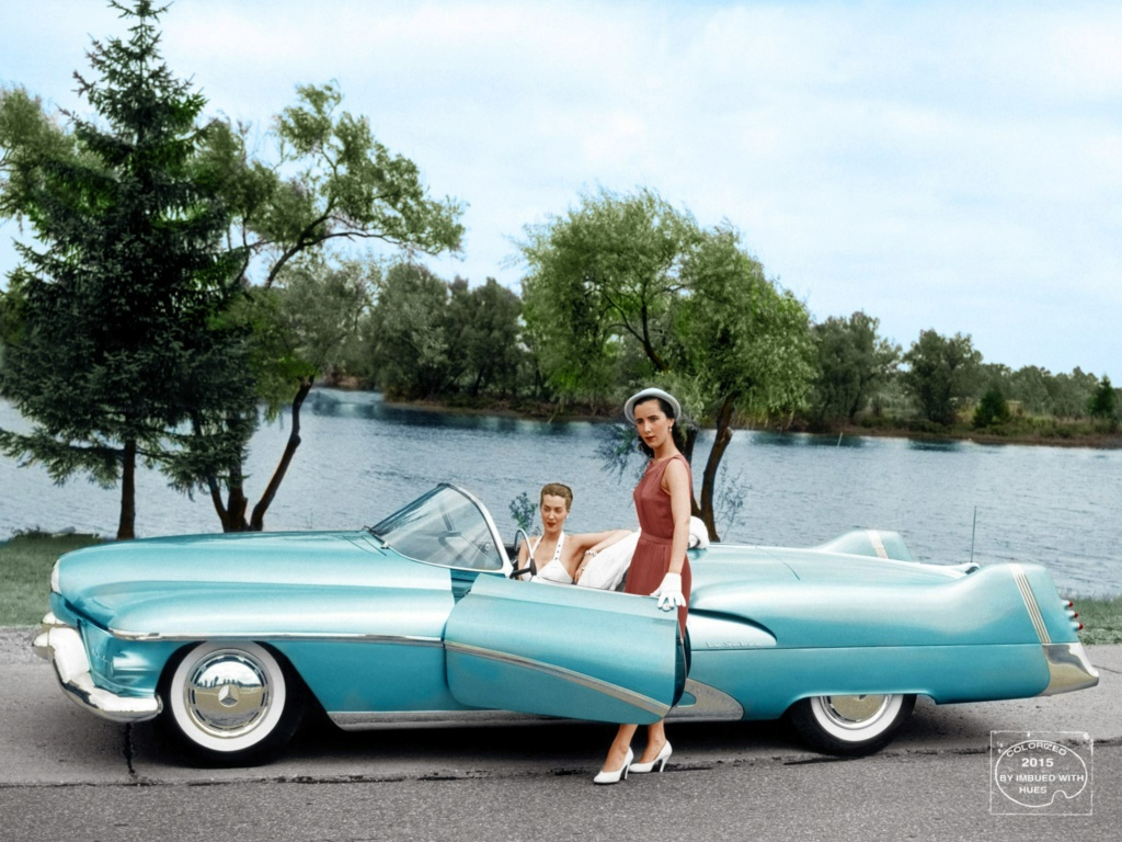 B & W Classic cars and vintage pics colorized by Imbued with hues 12029710