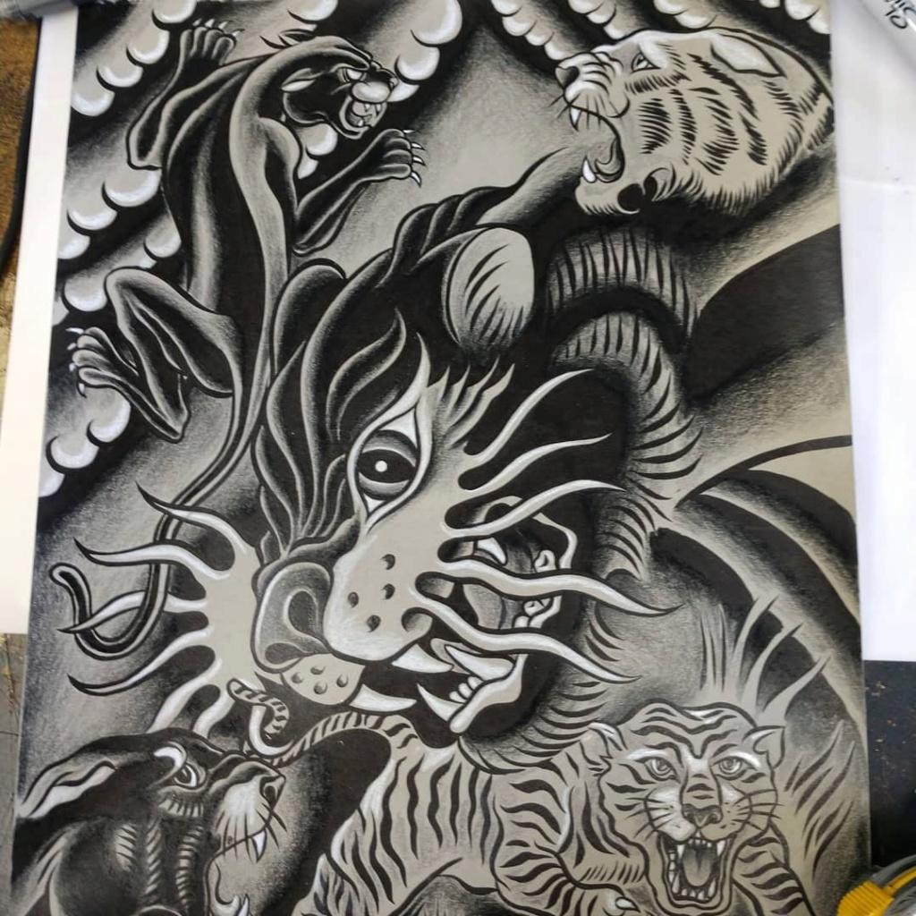 Dennis McPhail - artist kustom and hot rod kulture - Old school Tattoo 12094810