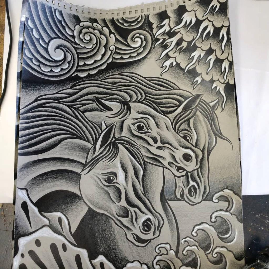 Dennis McPhail - artist kustom and hot rod kulture - Old school Tattoo 12113810