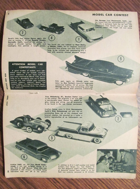Rod & Custom mag - April 1957 - model contest 12126810
