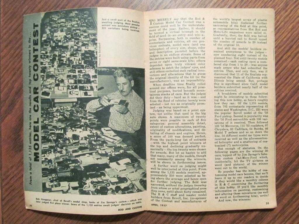 Rod & Custom mag - April 1957 - model contest 12143410