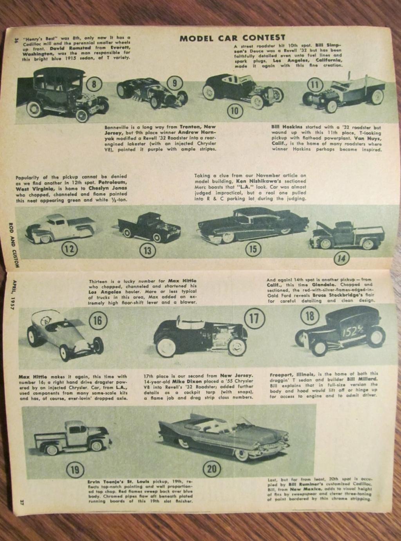 Rod & Custom mag - April 1957 - model contest 12144210