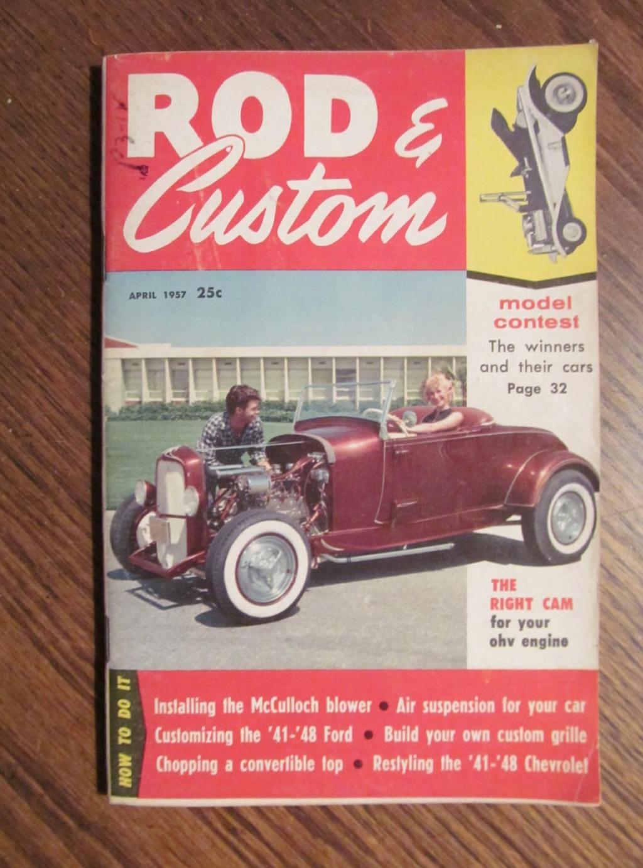 Rod & Custom mag - April 1957 - model contest 12154610