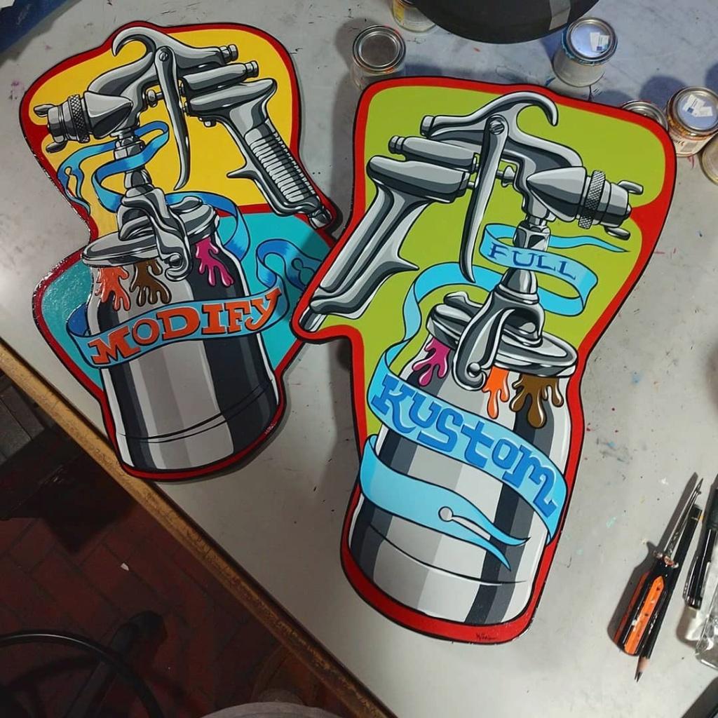 Dennis McPhail - artist kustom and hot rod kulture - Old school Tattoo 12161410