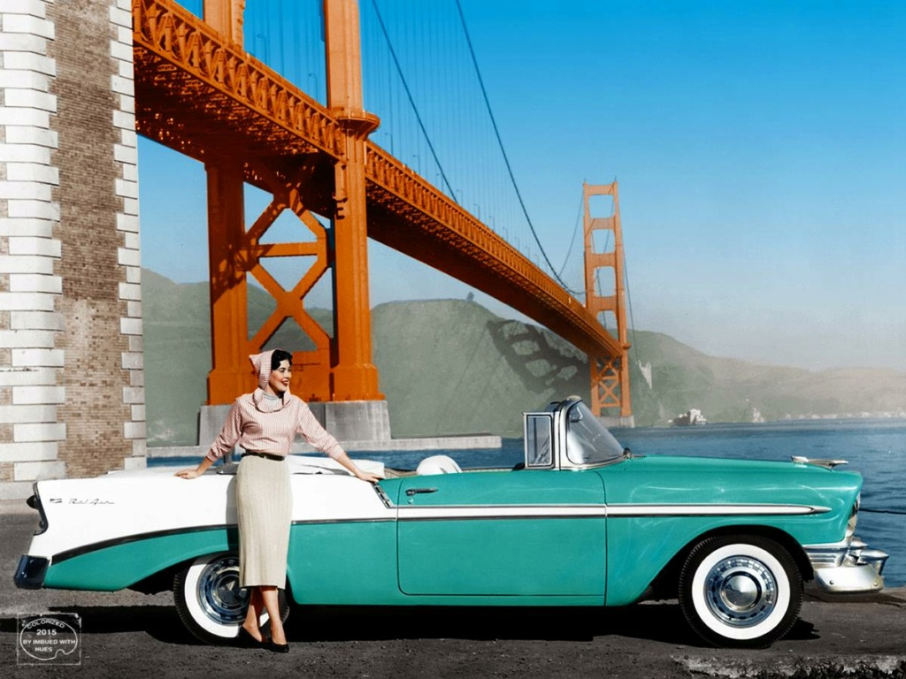 B & W Classic cars and vintage pics colorized by Imbued with hues 12183910
