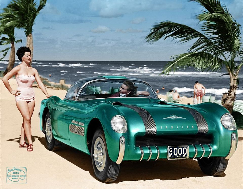 B & W Classic cars and vintage pics colorized by Imbued with hues 12265710