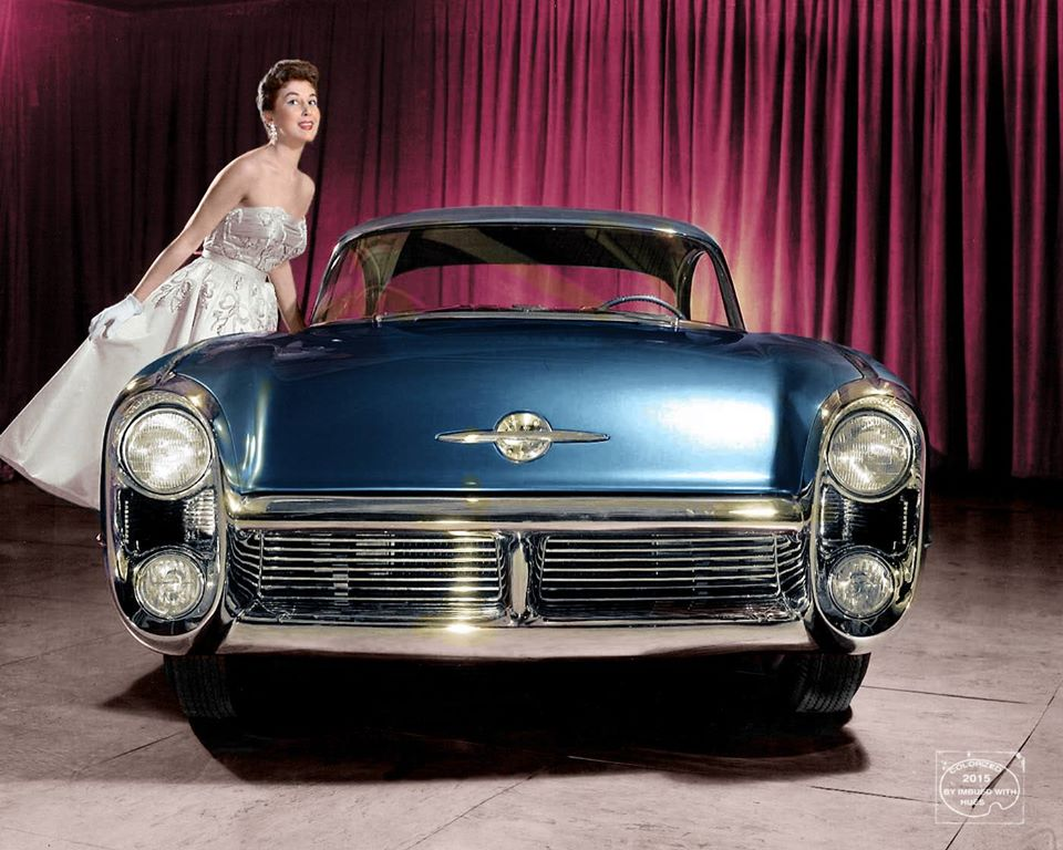 B & W Classic cars and vintage pics colorized by Imbued with hues 12291910