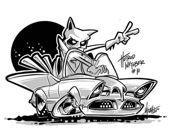 Micah Claycamp - pretty cool show rod coloring pages 12314010