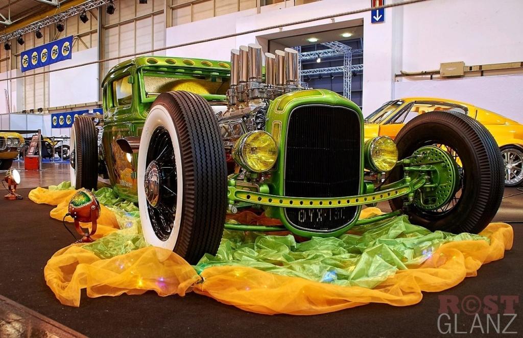 Wild Green A - Ford A Coupe - Heath Garage 12339510