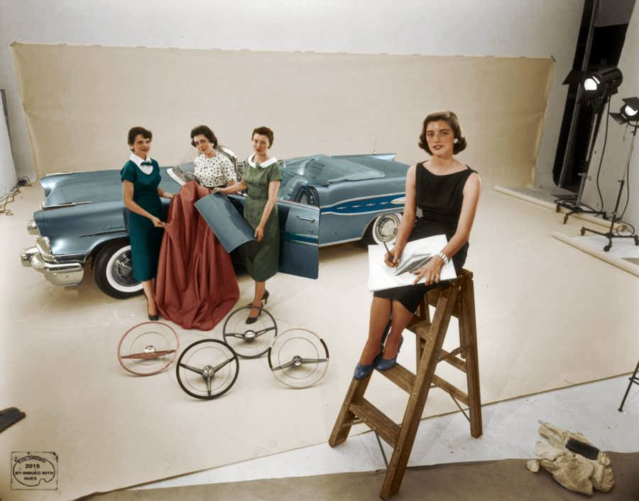 B & W Classic cars and vintage pics colorized by Imbued with hues 12346510