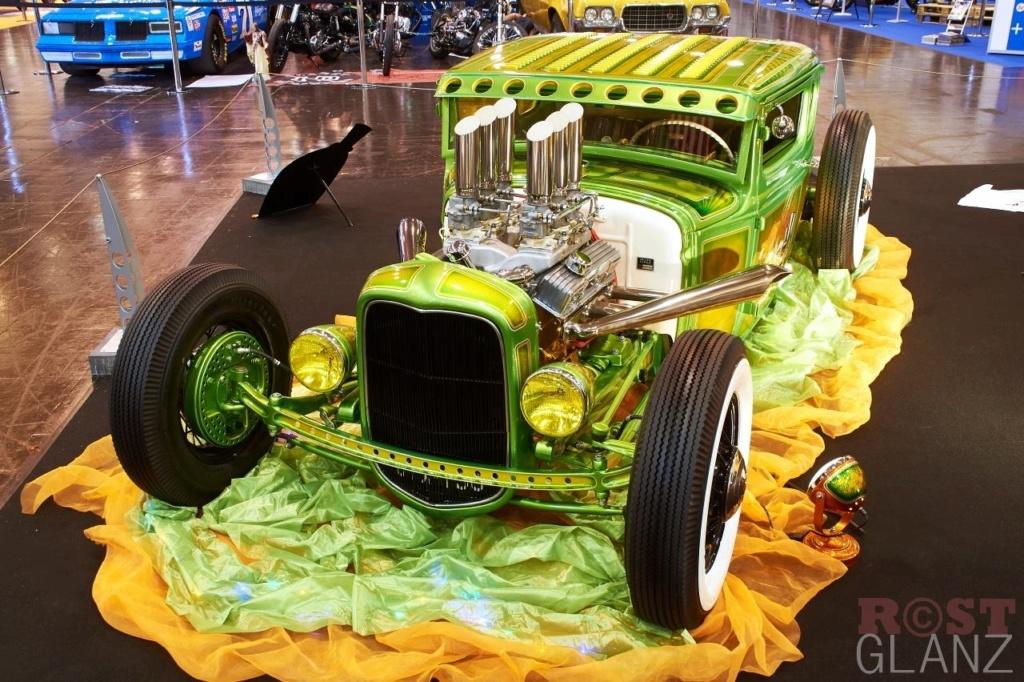 Wild Green A - Ford A Coupe - Heath Garage 12365910