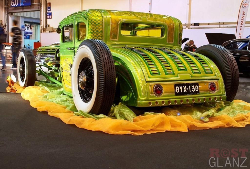 Wild Green A - Ford A Coupe - Heath Garage 12365911