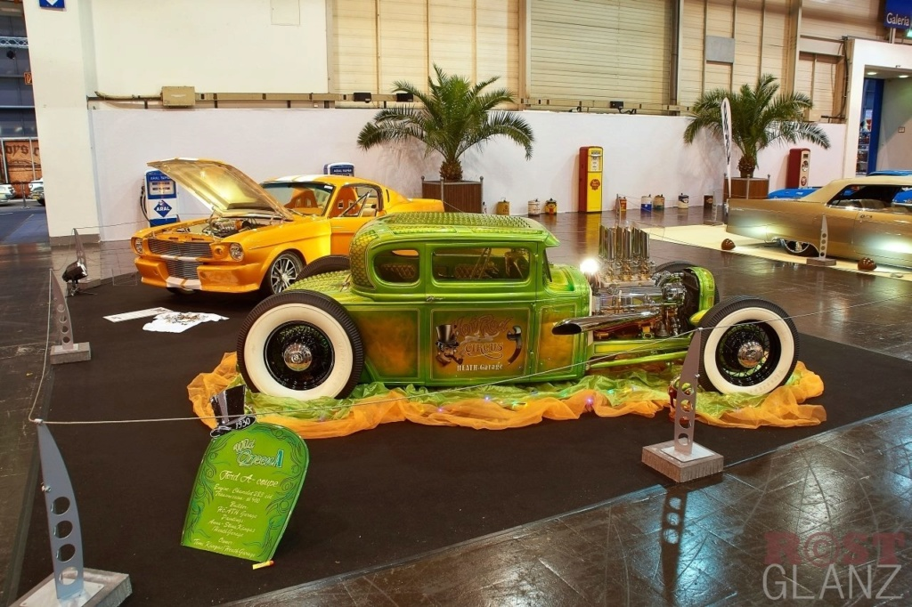 Wild Green A - Ford A Coupe - Heath Garage 12370610