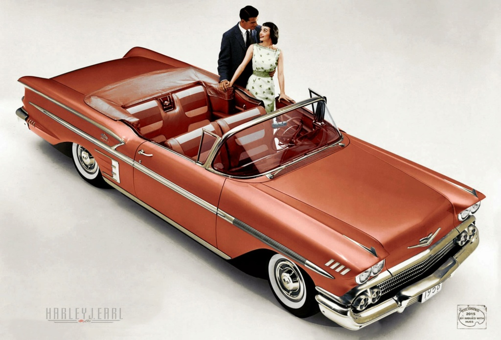 B & W Classic cars and vintage pics colorized by Imbued with hues 12465810