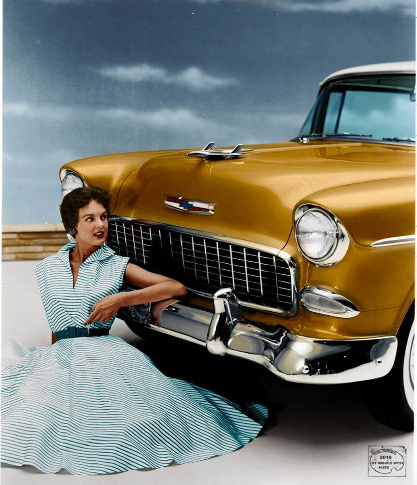 B & W Classic cars and vintage pics colorized by Imbued with hues 12487110