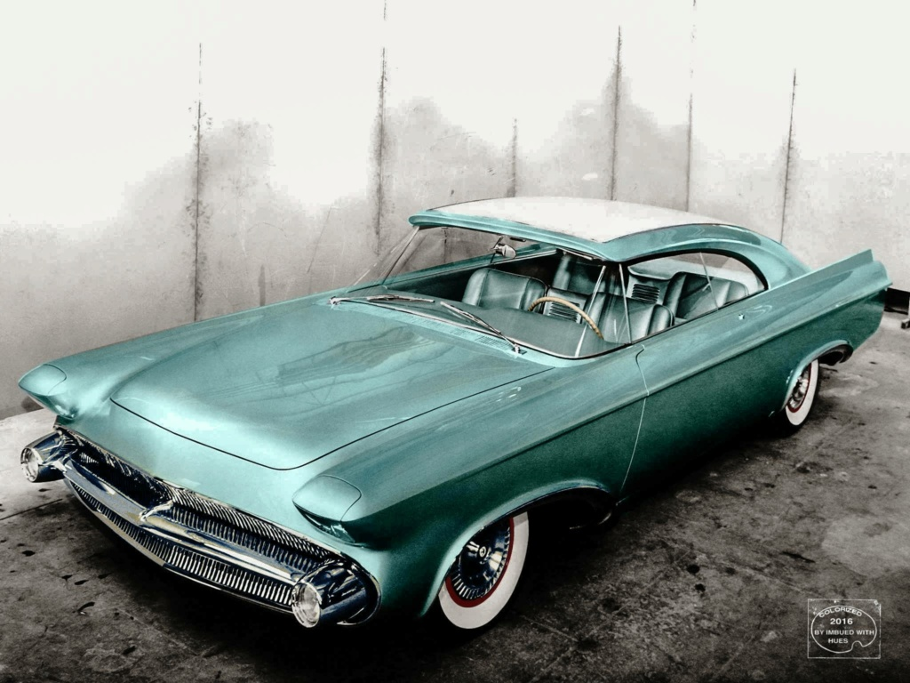 B & W Classic cars and vintage pics colorized by Imbued with hues 12493610