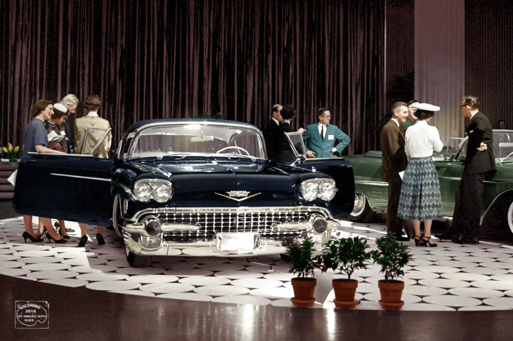 B & W Classic cars and vintage pics colorized by Imbued with hues 12525310