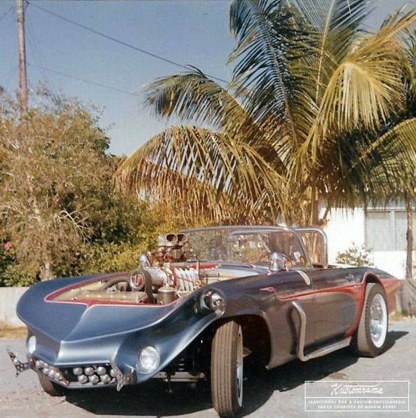 1955 Ford Thunderbird - Moon Rocket -  Jerry Anolik - Page 2 12576010