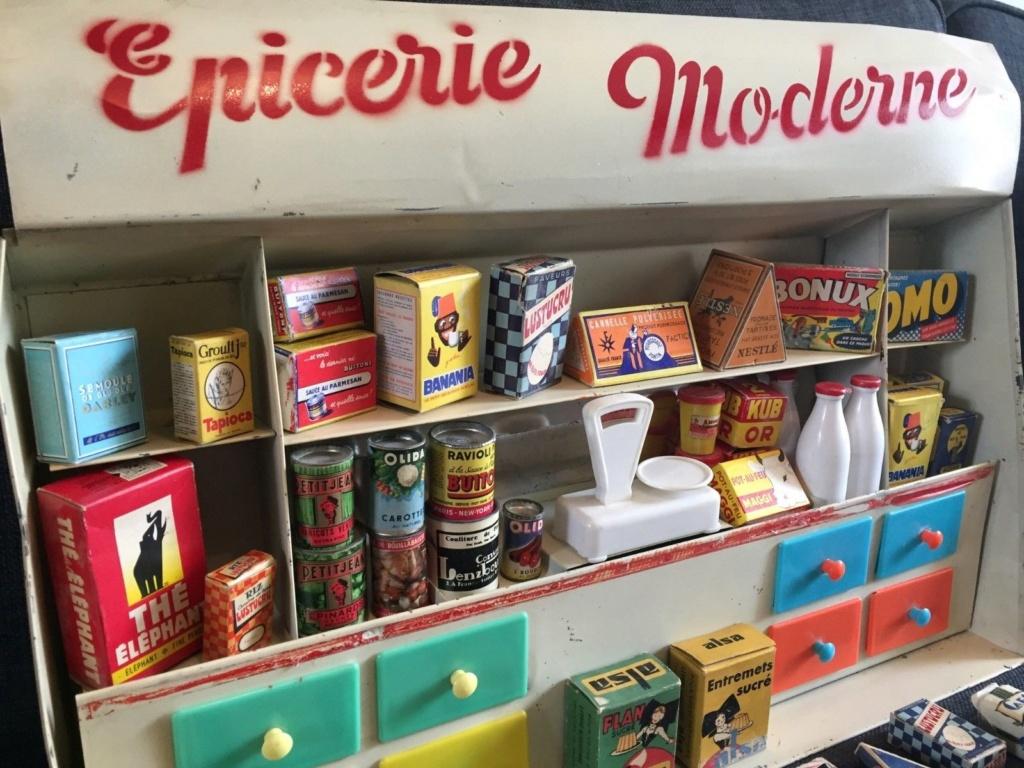 Epicerie jouet années 50 - Grocery toys vintage 126