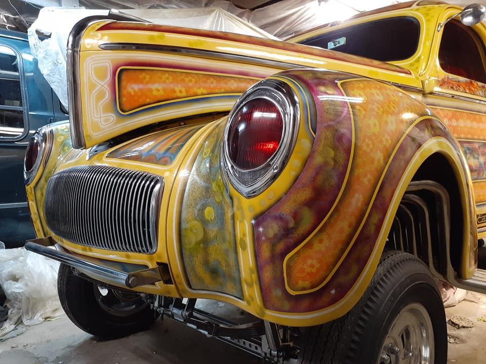 auto's crazy paint - peinture de fou sur carrosseries - Page 2 12631510