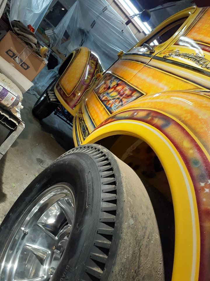 auto's crazy paint - peinture de fou sur carrosseries - Page 2 12644110